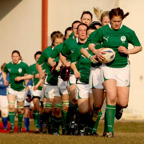 Italy Women 5 Ireland Women 26 Women's 6 Nations 2011