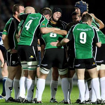 Connacht have moved four points above Ulster in the Magners League table