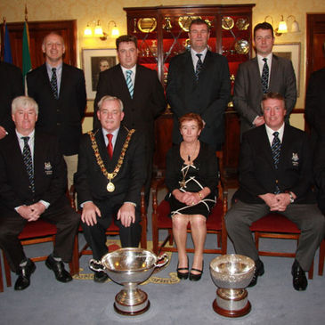 Cork Constitution's achievements were recognised at the civic reception