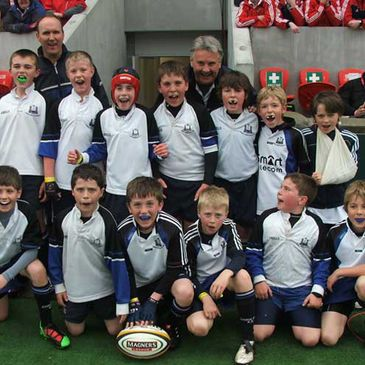 Cork Con's Under-11s at Thomond Park