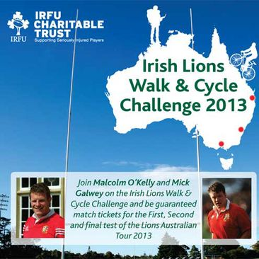 Irish Lions Walk And Cycle Australia 2013