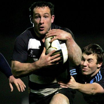 Daniel Riordan in action for Old Belvedere