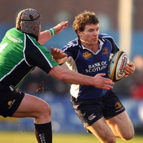 Gordon D'Arcy in league action against Connacht