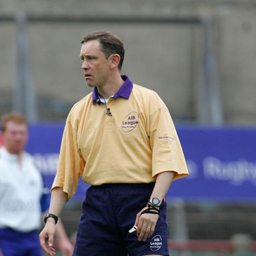 Former international referee Donal Courtney
