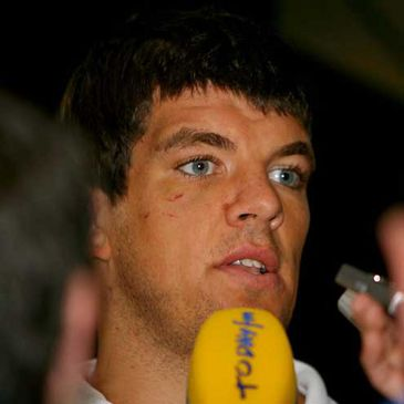 Ireland lock Donncha O'Callaghan