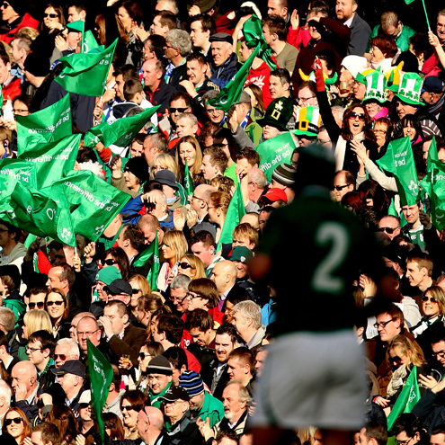 Complete the 2013 player survey and you could find yourself at the Aviva Stadium shouting for Ireland this November