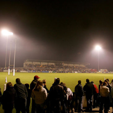 The floodlights will be on at Dubarry Park