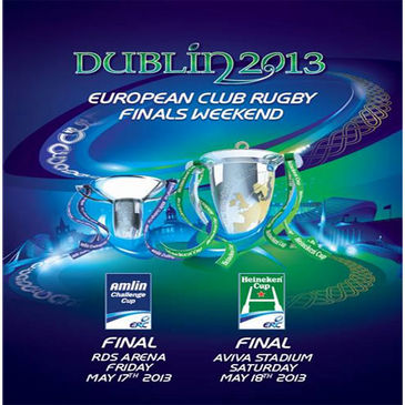 Dublin will be the home of European rugby in 2013