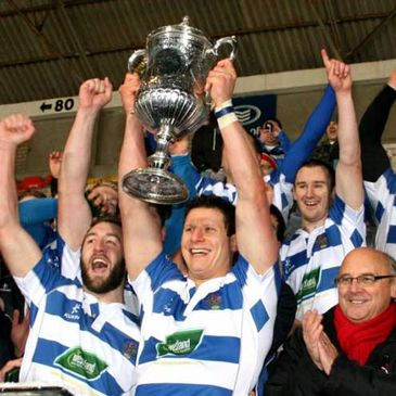 Dungannon lift the First Trust Ulster Senior Cup