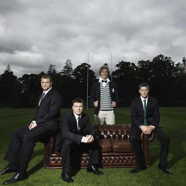 The Ireland squad will wear Eden Park formal wear at the Rugby World Cup