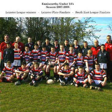 The Enniscorthy Under-14 squad of last season