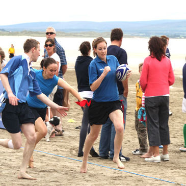 Enniscrone saw plenty of thrills and spills
