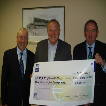 Suttonians raised funds for the IRFU Charitable Trust