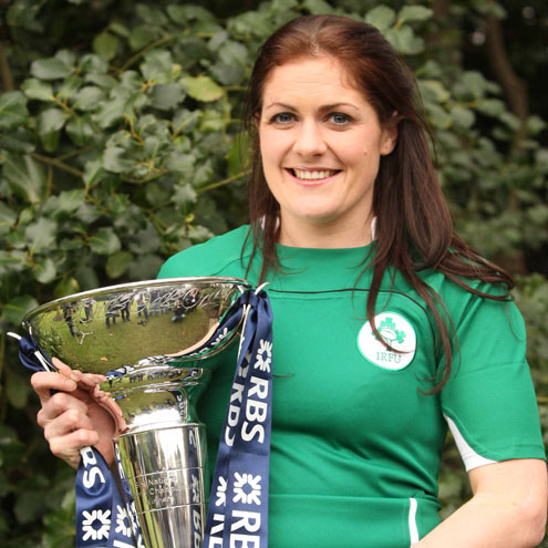 Ireland prop and captain Fiona Coghlan