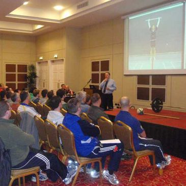 The IRFU Fitness Seminar in Munster