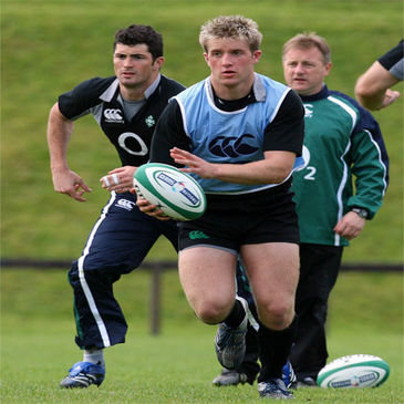 Luke Fitzgerald in action at UL