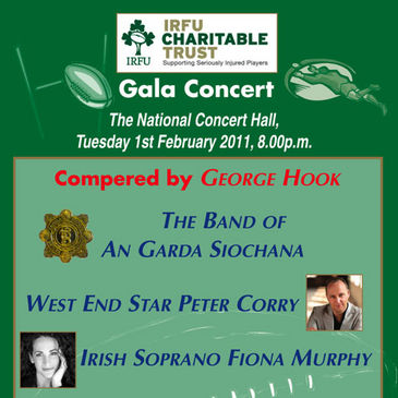 Join us at the IRFU Charitable Trust gala concert