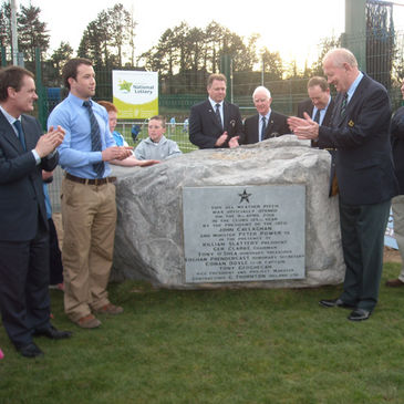 John Callaghan unveils Garryowen's new all weather pitch