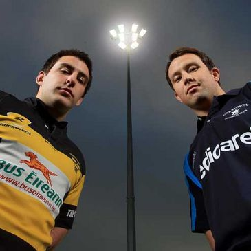 Ger Slattery and Conan Doyle get ready to launch Friday Night Lights