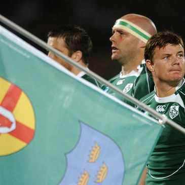 Brian O'Driscoll captained Ireland for the 2007 World Cup