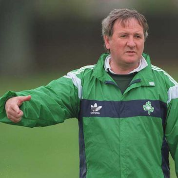 Former Ireland coach Gerry Murphy
