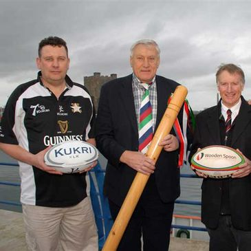 The launch of the Guinness Carrick Sevens