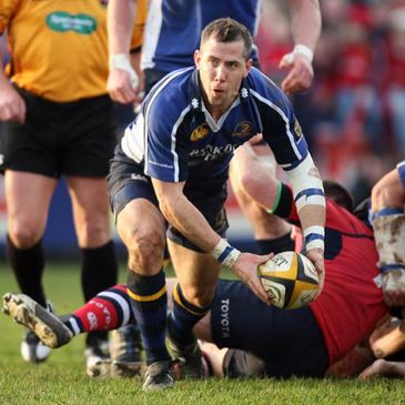 Guy Easterby in action for Leinster