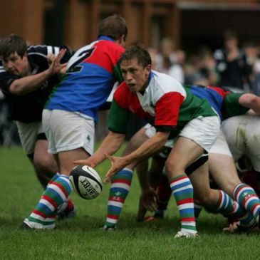 The Irish Exiles in action