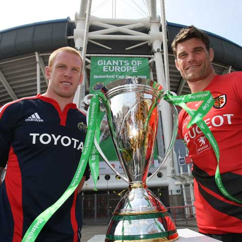 Heineken Cup Final Build-Up, Friday, May 23, 2008