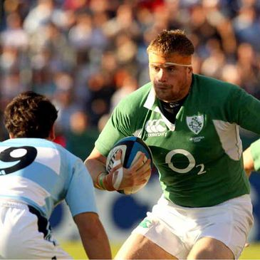 Jamie Heaslip in action against Argentina last summer