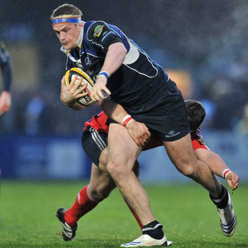 Jamie Heaslip in action