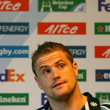 Jamie Heaslip faces the press