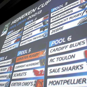 The draw for the 2012/13 Heineken Cup