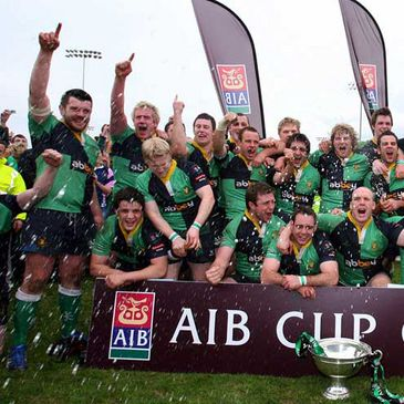 Ballynahinch won the AIB Cup last season