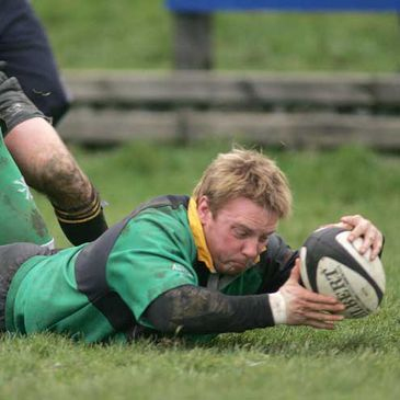 Ballynahinch score against Young Munster
