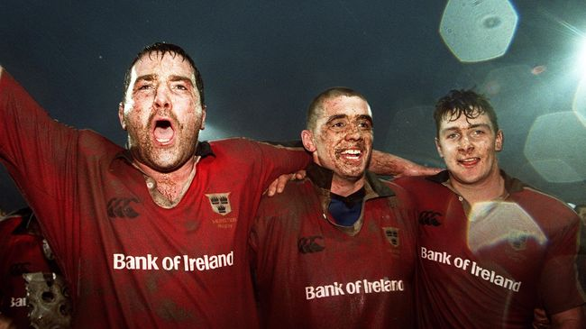 Anthony Foley RIP - A Rugby Life In Pictures