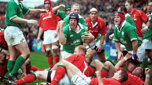 Paul O'Connell - His Ireland Career In Pics (2002-2007)