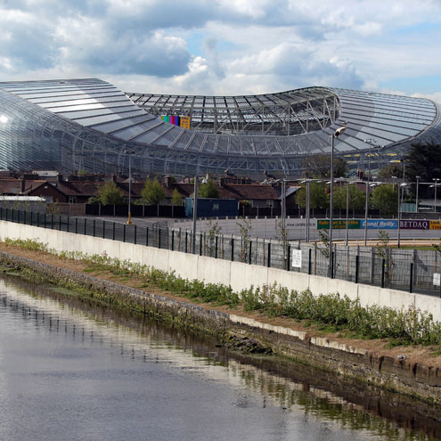 Photos from the official opening of the Aviva Stadium, the redeveloped home of Irish rugby