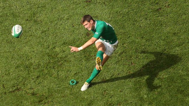 Irish rugby great Ronan O'Gara