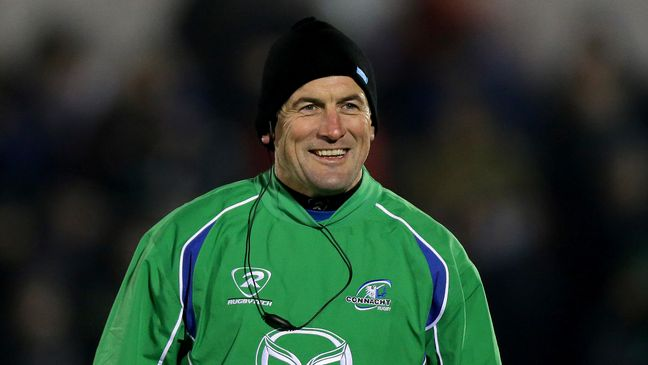 Eric Elwood is Connacht's new Academy Manager