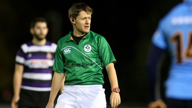 IRFU Referee Appointments For This Weekend