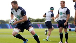 Ireland Squad Training At St. George's Park, Burton On Trent, Wednesday, September 23, 2015
