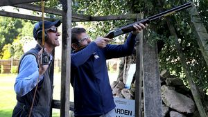 Ireland Squad's Down Day - Clay Pigeon Shooting & Alton Towers, Thursday, September 24, 2015