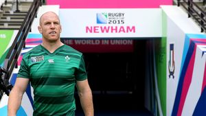 Ireland Captain's Run Session At Olympic Stadium, London, Saturday, October 3, 2015