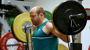 Ireland Squad Gym Session At Celtic Manor Resort, Newport, Tuesday, October 6, 2015
