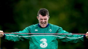 Ireland Squad Training At Newport High School, Newport, Wednesday, October 7, 2015