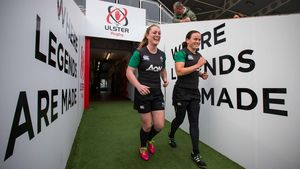 Ireland Women's Open Training Session, Kingspan Stadium, Saturday, October 10, 2015
