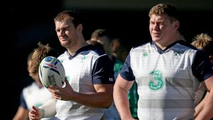 Ireland Squad Training At Sophia Gardens, Cardiff, Wednesday, October 14, 2015