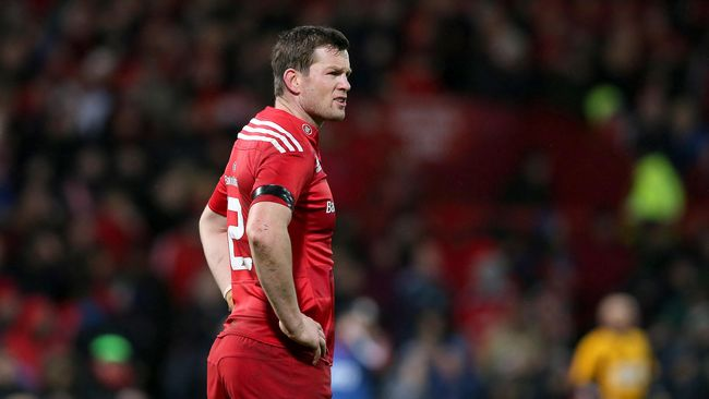 Munster Confirm Departing Players