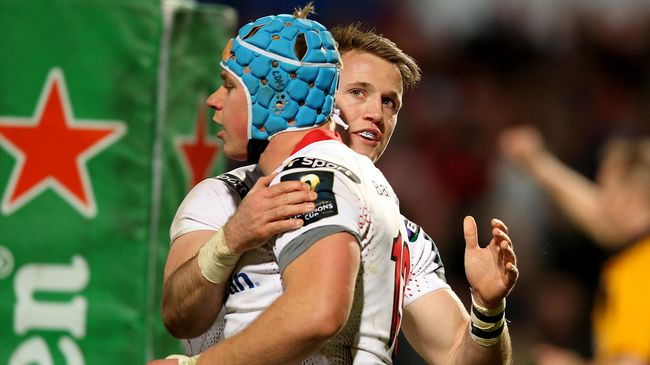 Gilroy And Marshall To Miss Ulster's Clash With Glasgow
